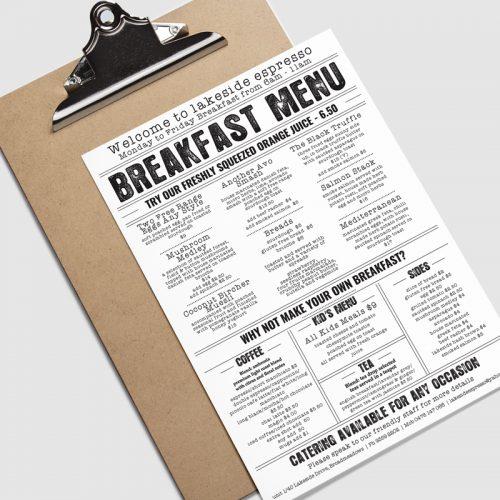 restaurant menu printing services in melbourne print logistics